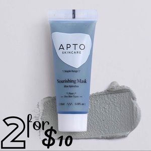 [APTO] NWT Deluxe Blue Spirulina Nourishing Mask